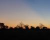 Botswana Thamalakane river sunset
